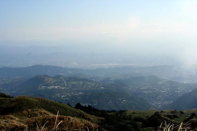 overlooking Taipei
