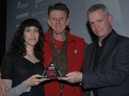 Alex Cox, Neil Young and Shine Short Film Award Winner Harry Wootliff
