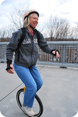 Unicylist Mom