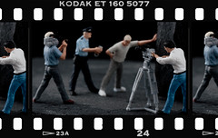 Hill Street Blues (hoho0482) Tags: tv police railway figures arrest macromondays favoritetv