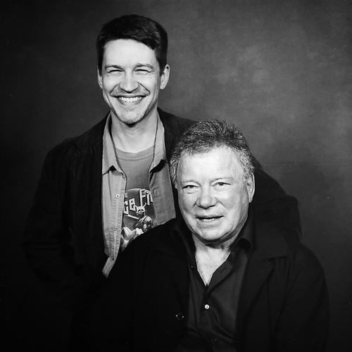 Brian & Captain Kirk