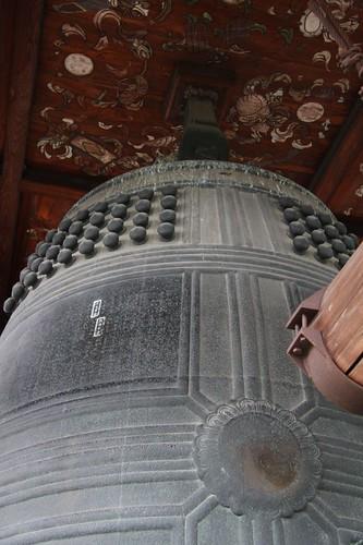 大きな釣鐘 / A big bell of 82.7t