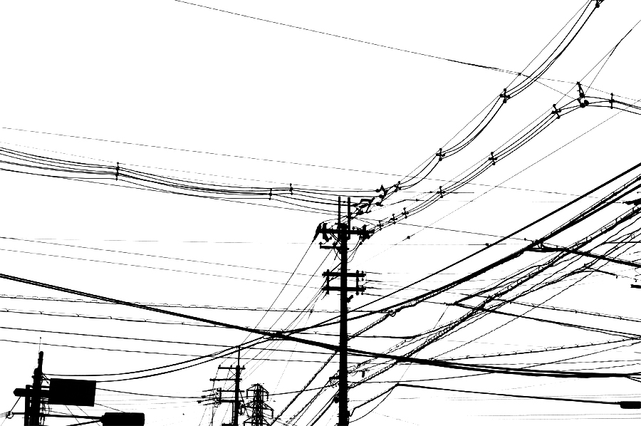 電線|滋賀県彦根市