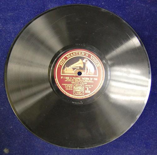 An HMV 78 record