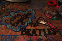 The Beatles Table Drawing (Alexia Suzanne) Tags: art drawing together come beatles