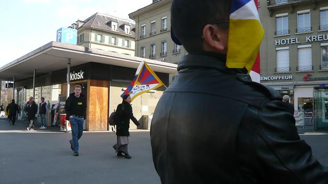 free tibet 52: faceflag