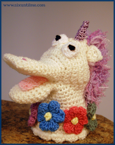 Meet Sprinkles the Unicorn.  ($0.25 to Bennet)