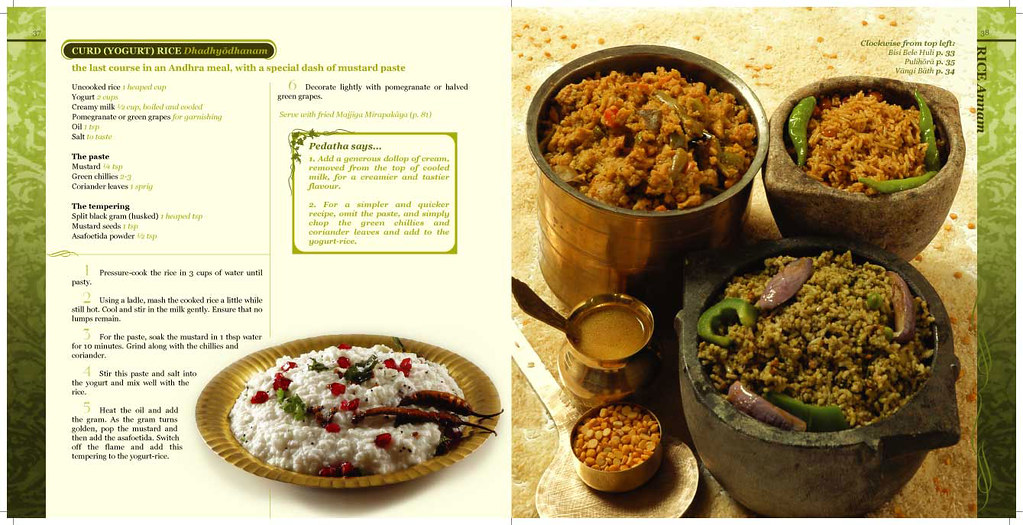 Vegetarian cookbook traditional andhra recipes award winning magic of curd in rice forumfinder Choice Image