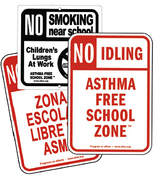Idle Free - courtesy Asthma Free School Zone