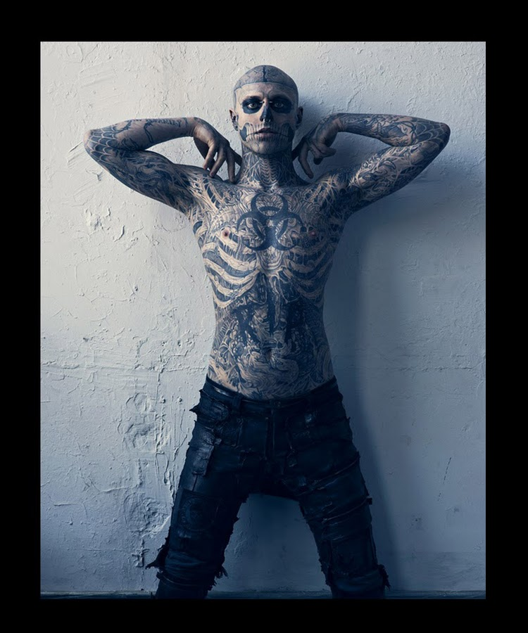 Hard To Be Passive by Mariano Vivanco and Nicola Formichetti Vogue Hommes Japan Magazine 2011 Rick Genest 3