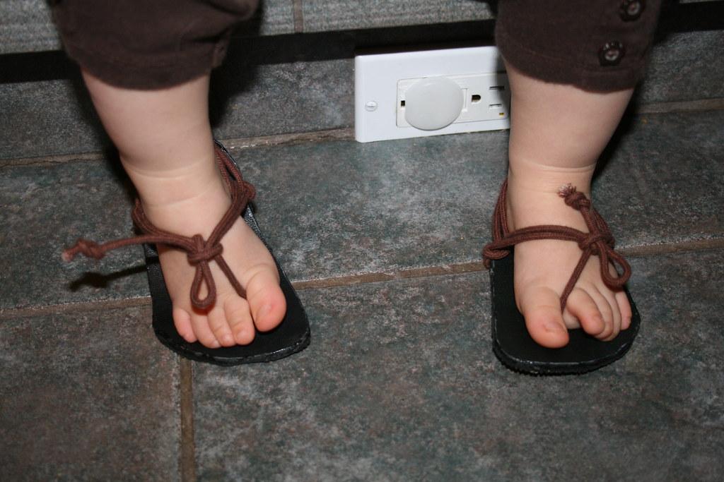 Homemade Barefoot Running Shoes