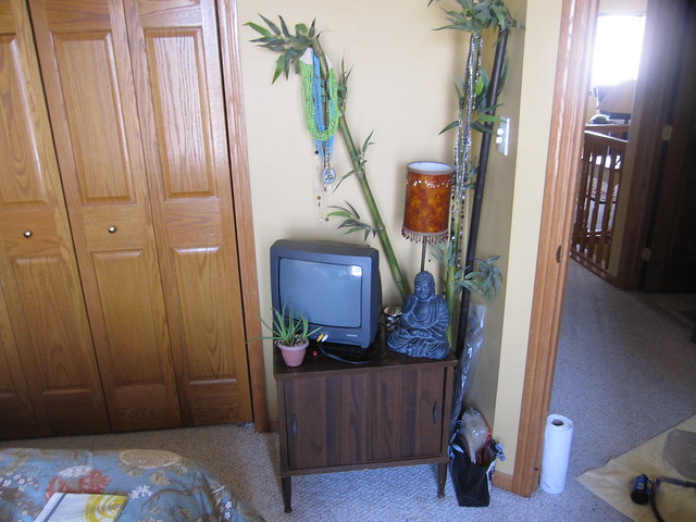 TV's New Home