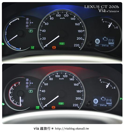 【體驗試乘】和Lexus CT200h來趟台中小旅行~拜訪台中市新景點!14