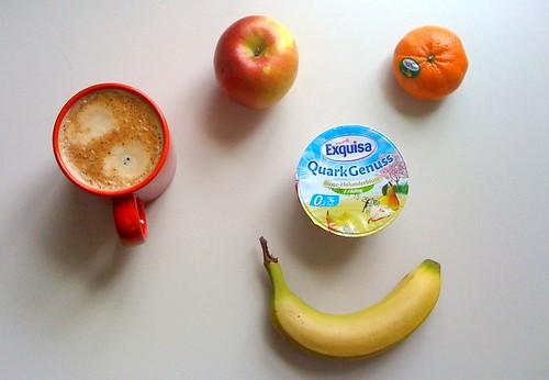 Braeburn, Clementine, Banane & Quark Genuss