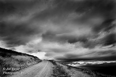 Country Road (jim_david) Tags: road weather mystery clouds montana stock wildliferefuge bisonrange