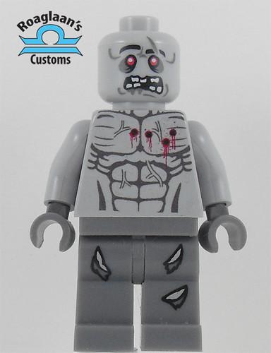 Custom minifig zombie torso