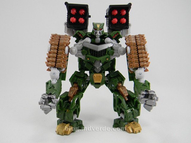 Transformers Hailstorm Hunt for the Decepticons Deluxe - modo robot
