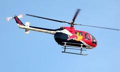 Red Bull MBB Bo 105 CBS4 N154EH (ChrisK48) Tags: aircraft helicopter bo 1985 redbull lukeafb luf glendaleaz kluf n154eh mbbbo105cbs4 lukedays2011 105cbs4