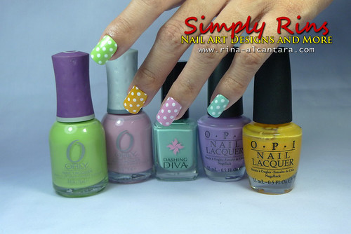 Nail Art Polka Dots For Beginners 01