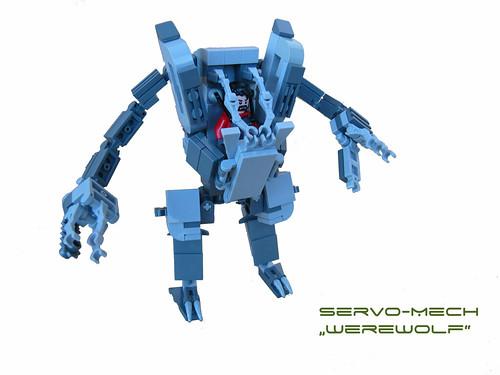 """Servo-Mech """"Werewolf"""""""