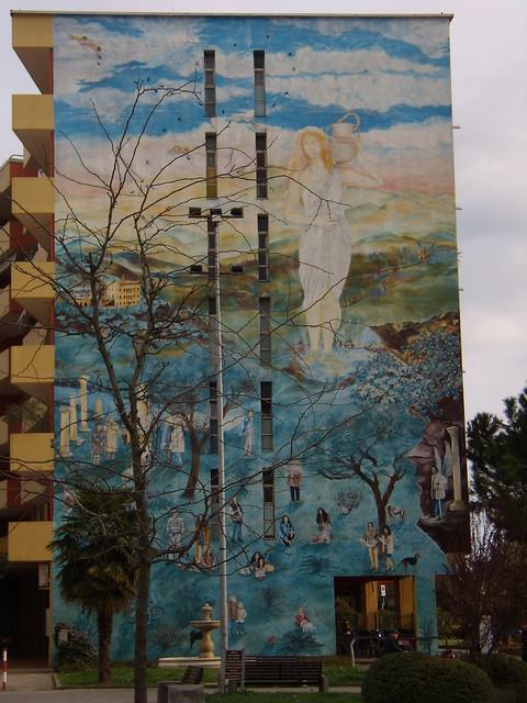 Montegrotto Terme: murales