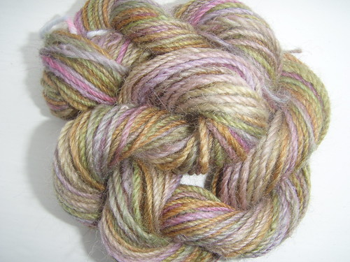 MHE Corriedale Sample Navajo Plied