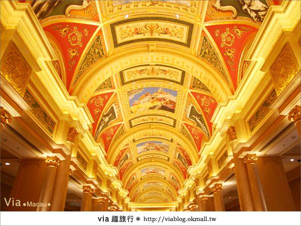 【澳門住宿】澳門威尼斯人酒店~享受奢華的住宿風格!9