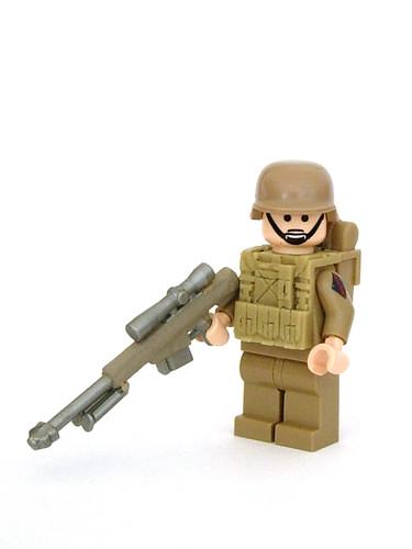 Custom minifig Barret M107 w/ custom minifig