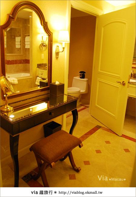 【澳門住宿】澳門威尼斯人酒店~享受奢華的住宿風格!34