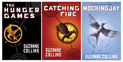 the hunger games trilogy, us covers