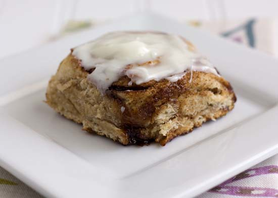 Light Everyday Cinnamon Rolls