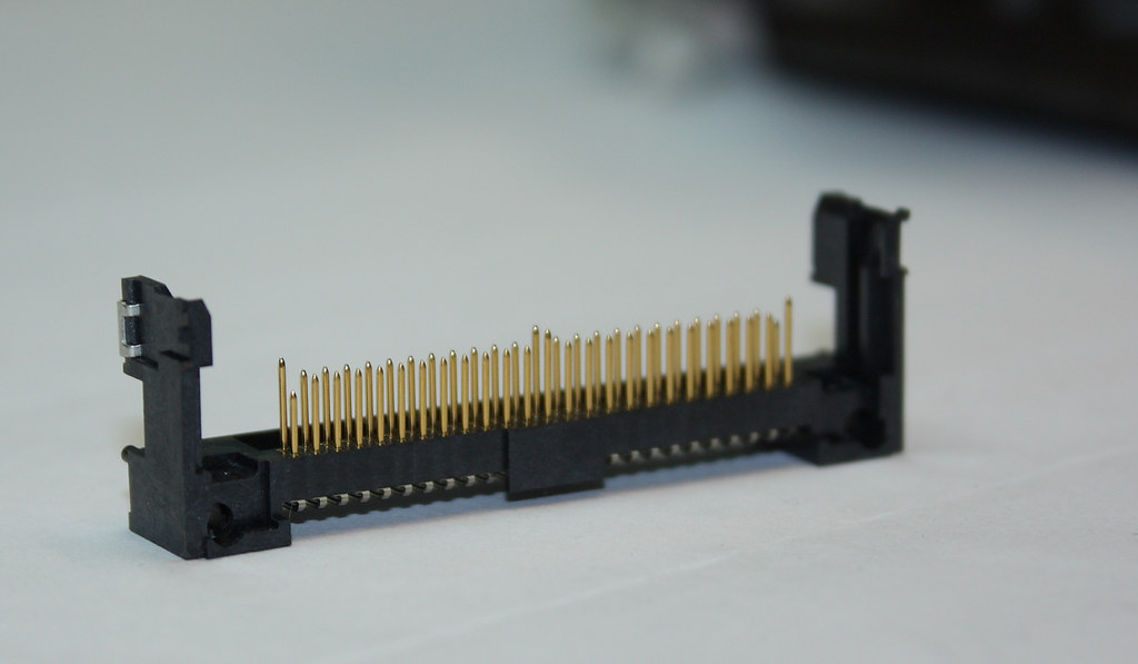 50D memory card slot  Pins pushed down -- Canon EOS