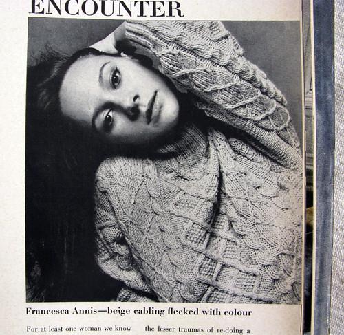 Francesca Annis, 1963