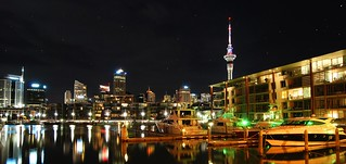 Auckland, New Zealand (Night View)