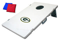 Green Bay Packers TailGate Toss 2.0 Plastic Cornhole Boards