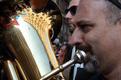 Titubanda (hidden side) Tags: people italy rome roma italia referendum acqua manifestazione musicanti manifestare acquabenecomune 26marzo acquapubblica 2si