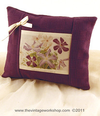 Clematis Pillow