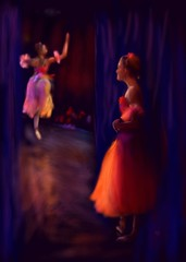Waiting To Go On (Pat McDonald) Tags: ballet usa dance ballerina danse nutcracker bale dans ballo bailar bailaora bailaoras richardcalmes truthandillusion