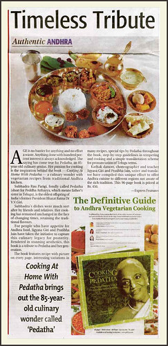 A culinary wonder with vegetarian recipes says The Indian Express