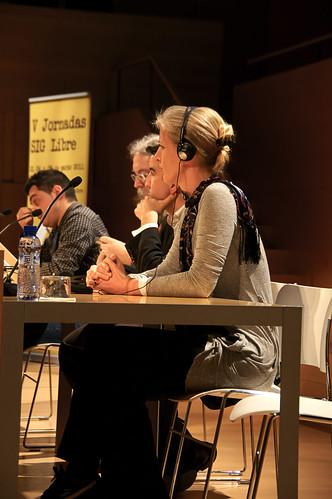 Mesa de Debate en siglibre2011