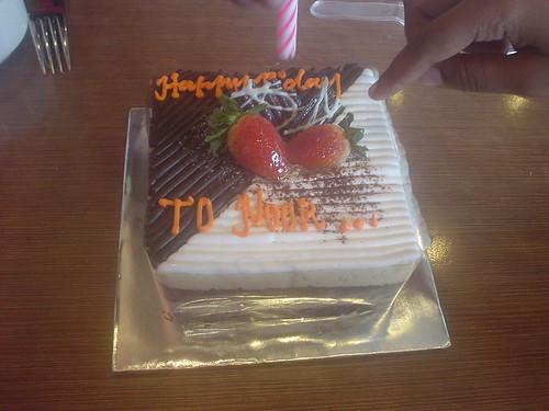 kek Hari Jadi saya yang ke 40