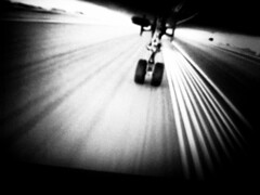 sorrows on a trip back home (liver1223) Tags: 2 blackandwhite bw toronto canada plane airplane photography airport shot snap landing hong kong gr runway ricoh grd blackwhitephotos grdigital2 platinumheartaward mygearandme mygearandmepremium mygearandmebronze