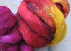 12 days of spinning fiber