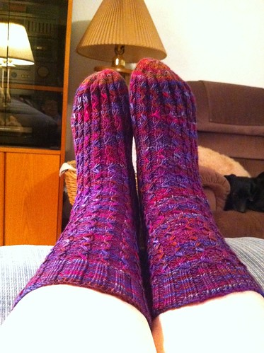 Solstice Slip socks w/o flash by BlueDragon2