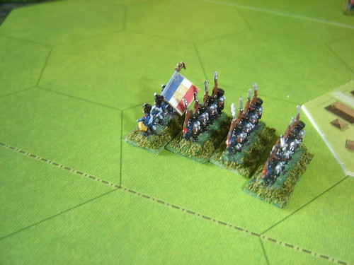 French glory as they wiped out charging British