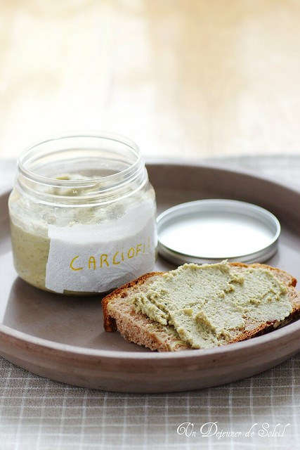 Artichoke and mascarpone spread