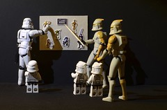A history lession for the mini Clones and the Mini-Stormtrooper (Kalexanderson) Tags: school stilllife sign toys starwars yoda board son troopers r2d2 stormtrooper learning anakin lightsaber teaching lesson fatherandson talking clone markers droid c3po clonewars droids familylife clonetrooper ordinarylife clonetroopers ministormtrooper miniclone internetsweden clonesinschool starwarsinschool thesearethedroidswearelookingfor 365daysofstormtroopers stormtrooperandson