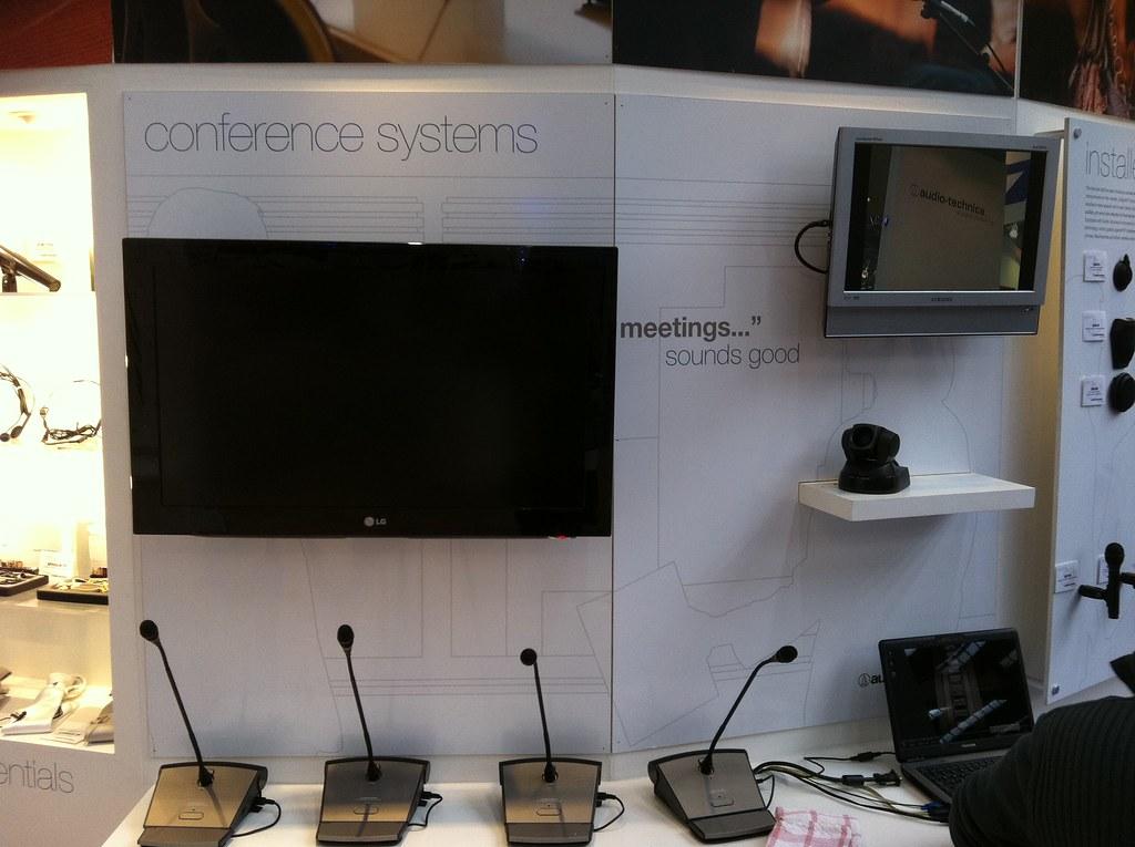 Audio-Technica Stand @ Prolight+Sound 2011