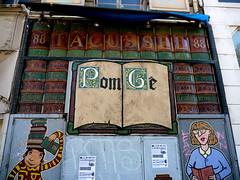 Marseille (Bouches du Rhne),   sur la Canebire (Marie-Hlne Cingal) Tags: france marseille pom graphs paca 13 bouchesdurhne graphistes canebire g bouquinerie sudest pomg editionspaultacussel tacussel