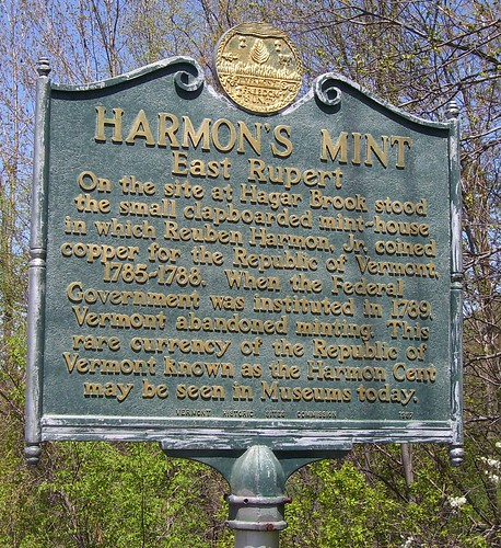 HISTORICAL MARKERS AND NUMISMATIC HISTORY